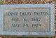Fannie DeLay Talton