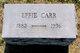 Effie <I>Borklund</I> Carr