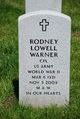 Profile photo:  Rodney Lowell Warner