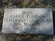"""Carrie Eugenia """"Genia"""" <I>Oliver Payton</I> Hogan"""
