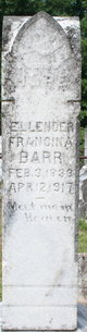 Profile photo:  Ellender Francina <I>Silas</I> Barr
