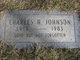 Profile photo:  Charles H. Johnson