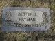 Profile photo:  Betty Jane <I>Jones</I> Fryman