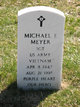 "Sgt Michael E. ""Mike"" Meyer"