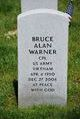 Profile photo:  Bruce Alan Warner