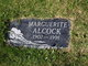 Marguerite <I>Walker</I> Alcock