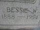 Profile photo:  Bessie <I>Womack</I> Bottoms