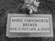 Marie Farnsworth Brewer