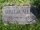 Aurelia Allen