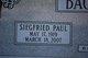 "Siegfried Paul ""Pish"" Backhaus"