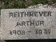 Profile photo:  Arthur John Reithmeyer