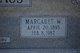 Margaret <I>Westermann</I> Backhaus