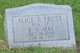 Profile photo:  Alice E. <I>Frost</I> Irby
