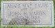Annie Mae Davis Martin