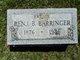 Profile photo:  Benjamin B. Barringer