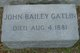 John Bailey Gatlin