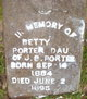 Profile photo:  Betty Porter