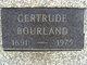 Profile photo:  Gertrude Bourland