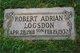 Robert Adrian Logsdon