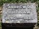 """Profile photo:  Andrew Jackson """"Andy"""" Brokaw"""