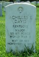 Achilles E Davis