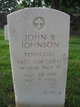 Profile photo:  John B Johnson