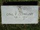 Opal F. <I>Clark</I> Oliphant
