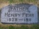 Henry Fehr