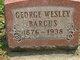 George Wesley Barcus