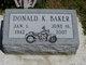 Donald K. Baker
