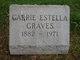 Carrie Estella Graves