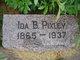 Ida Bell <I>Jackson</I> Pixley