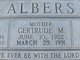 Gertrude M. Albers