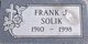 Frank J Solik