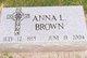 Anna L. <I>Thompson</I> Brown