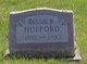 Profile photo:  Bessie B. Hufford