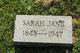 Sarah Jane <I>Crain</I> Clark