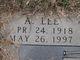 Profile photo:  A Lee Hooker