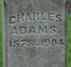 Profile photo:  Charles O. Adams