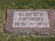 Alberta <I>Bunten</I> Anthony