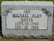 Profile photo:  Michael Allen Davis
