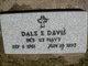 Profile photo:  Dale Erwin Davis