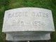Caddie <I>Hardy</I> Bates