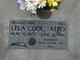 Lela May <I>Code</I> Tatro
