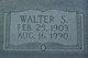 Walter Sylvester Turner