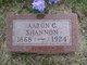 Profile photo:  Aaron C Shannon