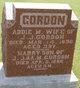 Profile photo:  Addie M Gordon