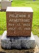 Philemon D Armstrong