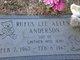 Rufus Lee Allen Anderson