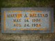 Marvin A Balstad